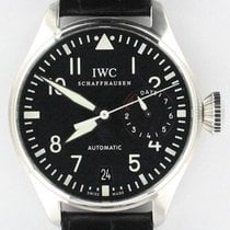 IWC Big Pilot Zeljezo 46mm Crn
