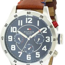 Tommy Hilfiger Leather Chronograph Mens Watch