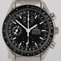 Omega 3520 5000 Steel 2004 Speedmaster Day Date 40mm pre-owned