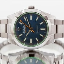 Rolex Milgauss Steel 40mm Blue United Kingdom, Essex