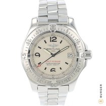 Breitling Colt Oceane pre-owned 33.2mm Champagne Date Steel