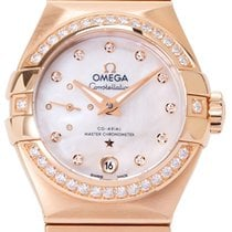 Omega Constellation Petite Seconde Rose gold 27mm