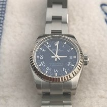 Rolex Oyster Perpetual Steel 26mmmm Blue Roman numerals United States of America, Alabama, ANNISTON