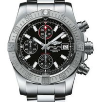 Breitling Avenger II Steel 43mm Black United States of America, New York, NY