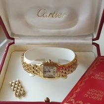 Cartier Panthère Yellow gold 22mm White Roman numerals United Kingdom, London