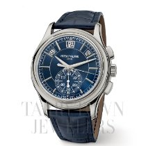 Patek Philippe 5905P-001 Platinum 2017 Annual Calendar Chronograph 42mm new
