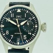 IWC Big Pilot Steel 46mm Black Arabic numerals United States of America, New York, NEW YORK