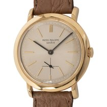 Patek Philippe Calatrava Yellow gold 34mm Silver United States of America, Texas, Austin