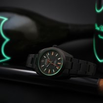 Rolex MILGAUSS DLC by EMBER watches