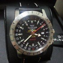 Glycine Airman Base 22 Steel 42mm Black No numerals