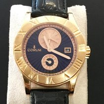Corum new Automatic Display Back Small Seconds Guilloche Dial Luminescent Hands 41mm Rose gold Sapphire Glass
