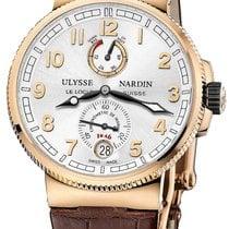 Ulysse Nardin Marine Chronometer Manufacture Rose gold 43mm Silver United States of America, New York, Airmont