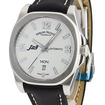 Armand Nicolet J09 Day&Date Automatic 9650A-AG-PK2420NR