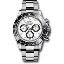 Rolex Daytona 116500 Stainless Steel White Face , Black...