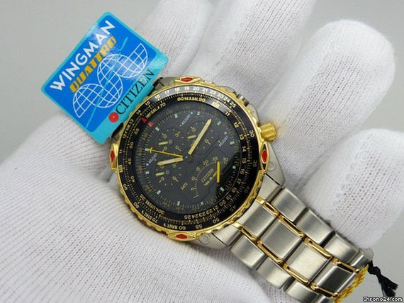 Citizen Wingman Quattro AB4004-59E for £239 for sale from a Trusted Seller  on Chrono24 9e0d37dd75