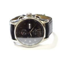 Hamilton Jassmaster Maestro 45mm Stainless Steel Watch on...
