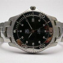 TAG Heuer Link Quartz Style #wj1113.ba0575 Black Dial Diamond...