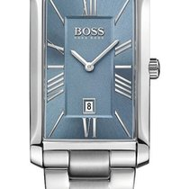 Hugo Boss Admiral Stainless Steel Mens Watch Ice Blue Dial...