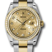 Rolex Datejust 116243 36mm  Steel and 18K Yellow Gold  Watch