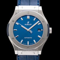 Hublot Classic Fusion Blue Titanium 45mm Blue United States of America, California, San Mateo