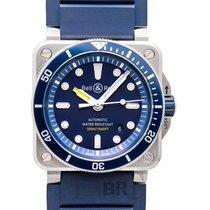 벨앤로스 BR 03-92 Diver Blue Steel/Rubber 42mm - BR0392-D-BU-ST/SRB