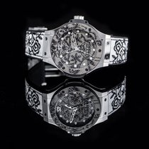 Hublot Big Bang Broderie Steel 41mm Silver United States of America, California, San Mateo