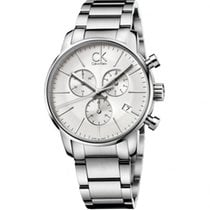 ck Calvin Klein Steel 43mm Quartz K2G27146 new