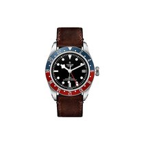 Tudor M79830RB-0002 Heritage Black Bay GMT in Stainless Steel...