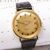 Omega Constellation Yellow gold 35mm Gold (solid) United Kingdom, Macclesfield