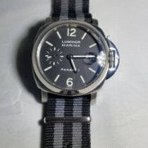 Panerai Luminor Marina Automatic Steel 40mm Black Arabic numerals Canada, Scarborough