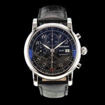 Montblanc Chronograph 42mm Automatik 2015 gebraucht Star Schwarz