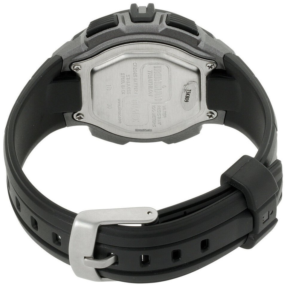 b3406a699494 Timex Ironman 30-lap Rugged Grey Dial Resin Strap Men s Watch... en venta  por  26 por parte de un Seller de Chrono24