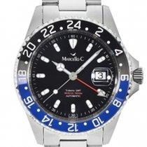 Marcello C. Steel GMT 2040.4.1 new