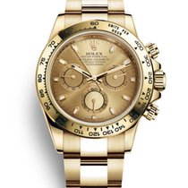 Rolex Daytona 116508 New Yellow gold 40mm Automatic