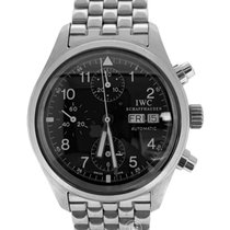 IWC Pilot Chronograph pre-owned 39mm Steel