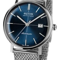 Epos Originale Steel 38,5mm Blue No numerals