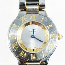 Cartier 21 Must de Cartier Steel 31mm Silver Roman numerals United States of America, Florida, POMPANO BEACH