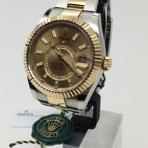 Rolex Gold/Steel 42mm Automatic 326933-0001 new
