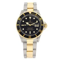 Rolex Gold/Steel 40mm Automatic 16613LN pre-owned