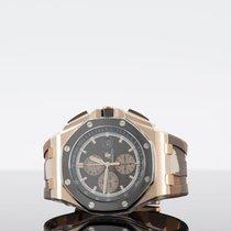 Audemars Piguet Royal Oak Offshore Rose gold 44mm Brown Arabic numerals