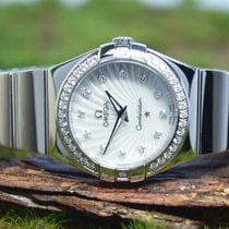 Omega Constellation Quartz Steel 27.5mm