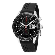 TAG Heuer Carrera Calibre 16 Steel 41mm Black No numerals United States of America, Florida, Hollywood