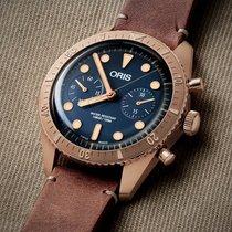 Oris Carl Brashear 01 771 7744 3185-Set LS Ungetragen Bronze 43mm Automatik Schweiz, Zürich