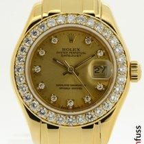 Rolex Lady-Datejust Pearlmaster 69298 1993 gebraucht