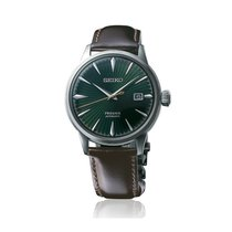 Seiko Presage Steel 40,5mm Green No numerals
