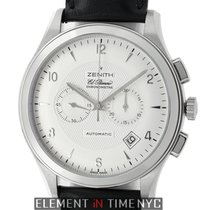 Zenith El Primero Chronograph White gold 44mm Silver Arabic numerals United States of America, New York, New York