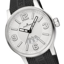 Jacques Lemans Sport Porto Steel 48mm Silver Arabic numerals