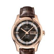 Omega Ladies 43163412213001 De Ville Hour Vision Watch