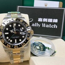 Rolex Cally - 116713LN GMT Master II GOLD STEEL Ceramic Bezel