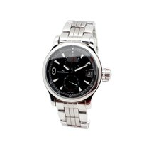 Jaeger-LeCoultre SS Jaeger LeCoultre Master Compressor GMT on...